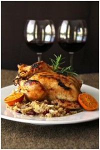 Chef Carol Borchardt's Cornish Game Hen with Clementine Glaze