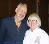 Chef Art Smith with Chef Candy Wallace at FENI 2011