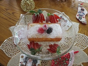Candy's orange ricotta pound cake3