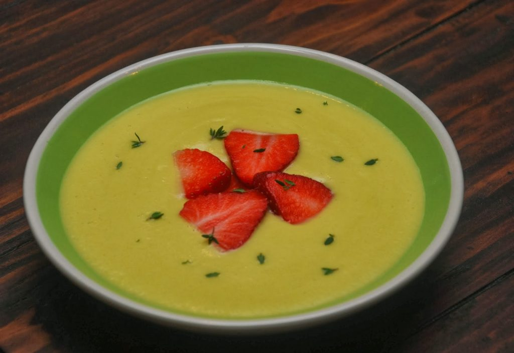 Chilled Squash Soup