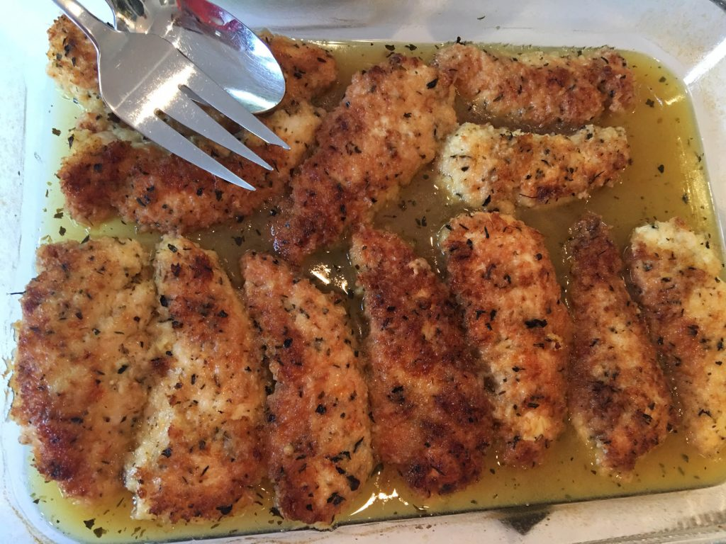 Evie's lemon chicken