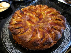 Joan Nathan's Apple Cake