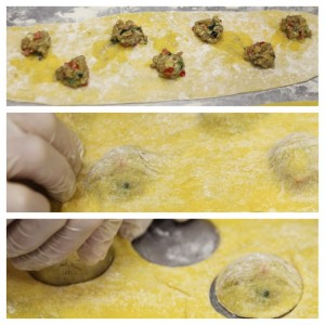 Making the raviolini