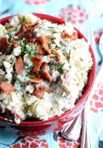Natalie Lewis' Bacon-and-Blue-Cheese-Potato-Salad-so-delish1