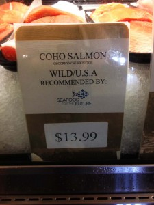 Seafood for the Future-Coho